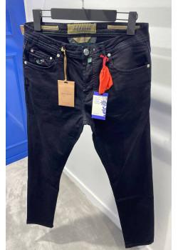 Мужские тёмно-синие джинсы