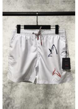 Мужские белые шорты