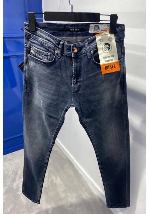 Мужские тёмно-серые джинсы