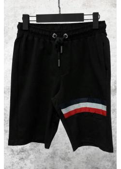 Мужские брендовые шорты чёрного цвета