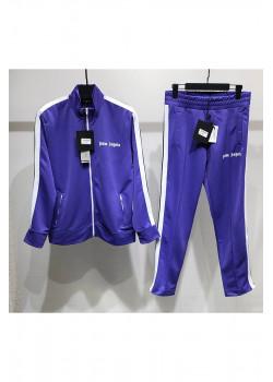 Мужской фиолетовый костюм