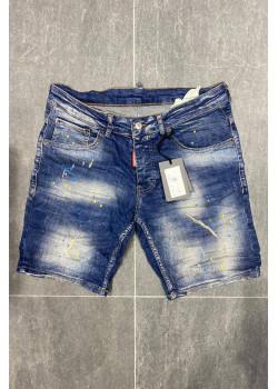 """Мужские джинсовые шорты """"Paint Splatter"""""""