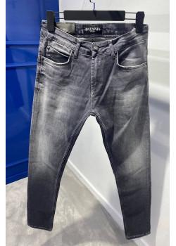 Мужские серые джинсы