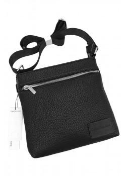 Мужская брендовая сумка чёрного цвета