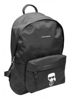 Мужской брендовый рюкзак чёрного цвета