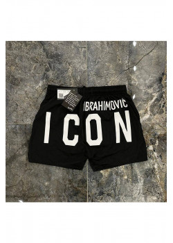 "Мужские чёрные шорты ""ICON"""