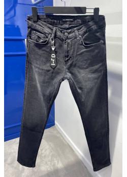 Мужские брендовые джинсы серого цвета