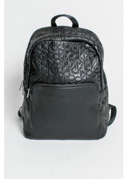 Брендовый мужской рюкзак чёрного цвета