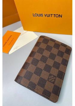 Кожаная обложка для паспорта 10x14 см