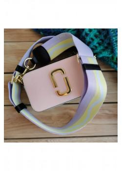 Кожаная сумка 25x16 см - Pink