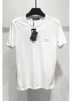 Мужская футболка Logo Plaque - White