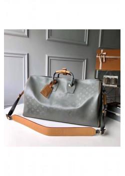 Брендовая дорожная сумка 50x30 см - Grey