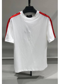 Оверсайз футболка Logo Side Panel - White