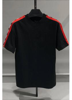 Оверсайз футболка Logo Side Panel - Black
