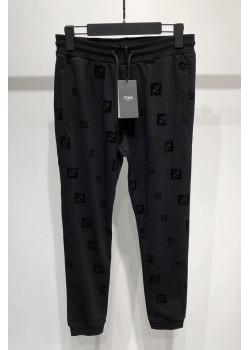 Мужские чёрные штаны с логотипом FF