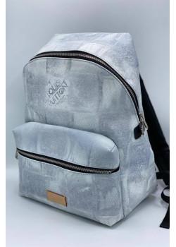 Брендовый кожаный рюкзак Paris 36x30 см