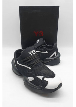 Мужские чёрные кроссовки Y-3 Yohji Yamamoto