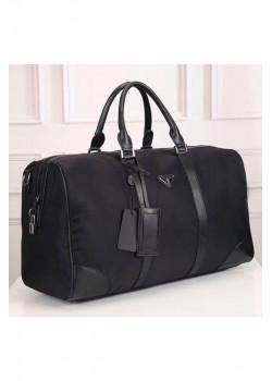 Чёрная дорожная сумка 50x30 см