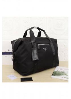 Чёрная дорожная сумка 45x35 см