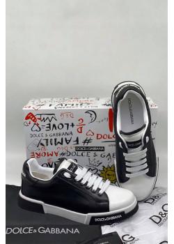 Мужские кроссовки - Black / White