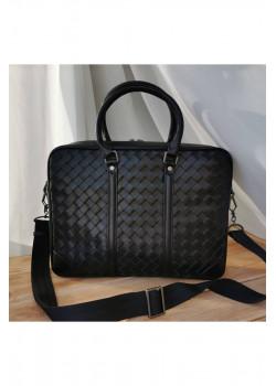 Классическая кожаная сумка 37x27 см