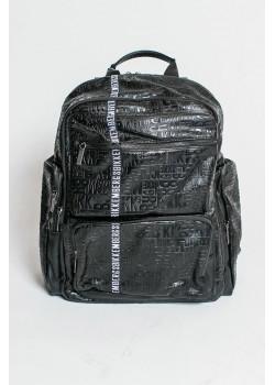 Мужской чёрный рюкзак 40x32x15 см