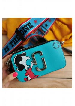"Кожаная сумка Peanuts ""Lucy"" 19x11 см"
