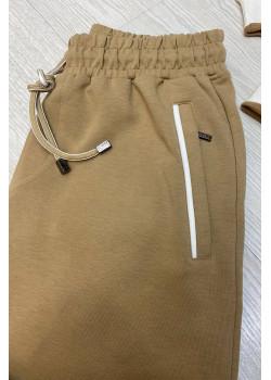 Мужские бежевые штаны