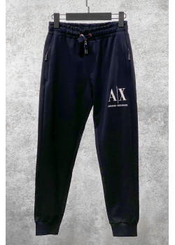 Мужские штаны тёмно-синего цвета