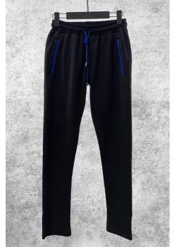 Классические мужские штаны чёрного цвета