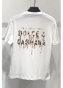 Оверсайз футболка Only Good Vibes - White