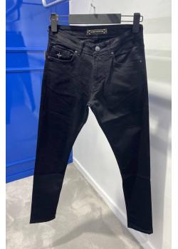 Мужские брендовые джинсы чёрного цвета
