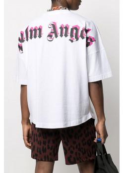 Белая оверсайз футболка