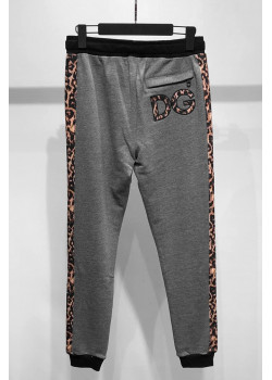 "Мужские серые штаны ""Leopard"""