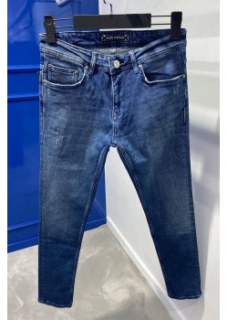 Мужские брендовые джинсы синего цвета