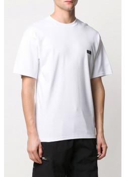 Мужская оверсайз футболка GCDS белого цвета