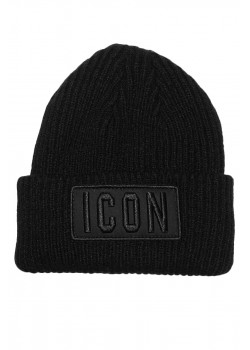 "Мужская шапка ""ICON"" - Black"