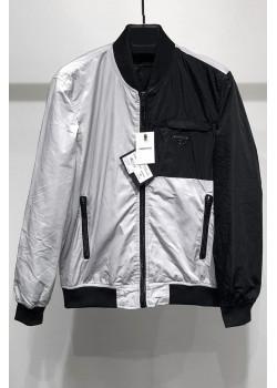 Мужская ветровка - Grey / Black