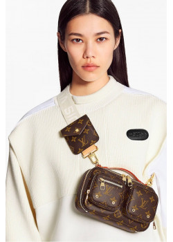 Кожаная брендовая сумка 18x11x10 см