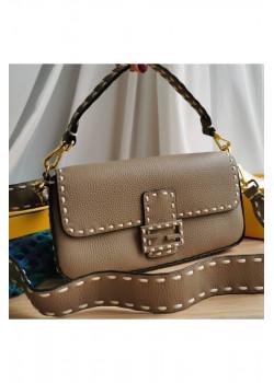 Кожаная сумка 27x15 см (2 расцветки)