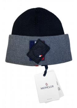 Брендовая шапка - Black / Grey