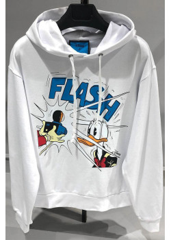 Оверсайз худи Disney Donald Duck Flash - White