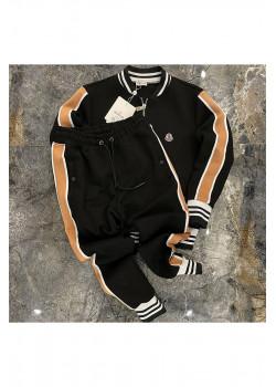 Мужские брендовые штаны чёрного цвета