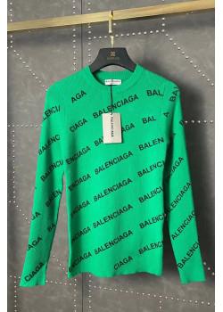 Женская кофта зелёного цвета