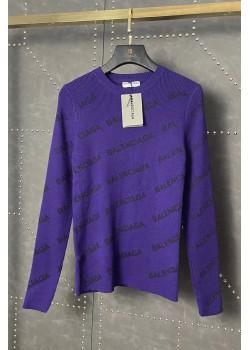 Женская кофта фиолетового цвета
