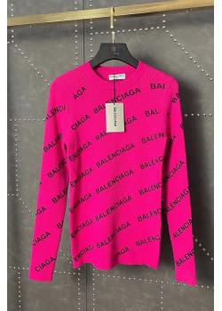 Женская кофта розового цвета
