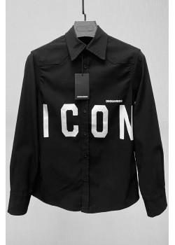 "Мужская джинсовая рубашка ""ICON"" - Black"
