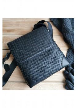Мужская кожаная сумка 28x26 см
