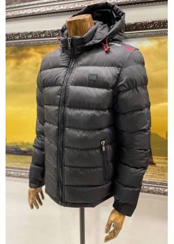 Мужская куртка чёрного цвета