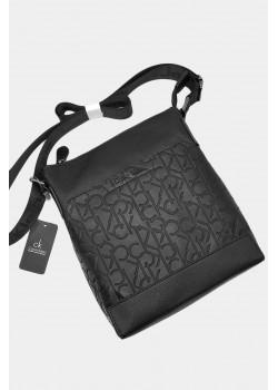 Мужская фирменная сумка чёрного цвета